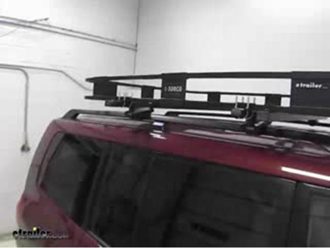 Surco Safari Rack 5 0 Rooftop Cargo Basket For Yakima Roof