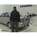 Swagman  Hitch Bike Racks Review - 2006 Toyota Camry