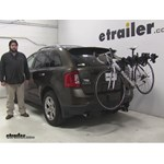 Swagman  Hitch Bike Racks Review - 2011 Ford Edge