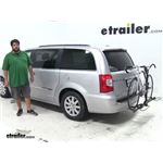Swagman  Hitch Bike Racks Review - 2012 Chrysler Town and Country