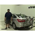 Swagman  Hitch Bike Racks Review - 2012 Ford Focus