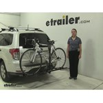 Swagman  Hitch Bike Racks Review - 2012 Subaru Forester