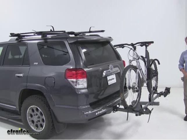 Swagman Hitch Bike Racks Review   2012 Toyota 4Runner Video   Etrailer.com