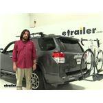 Swagman  Hitch Bike Racks Review - 2012 Toyota 4Runner