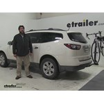 Swagman  Hitch Bike Racks Review - 2013 Chevrolet Traverse