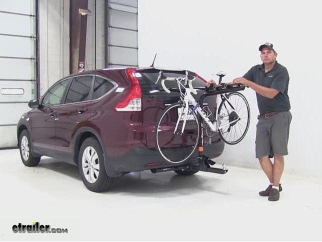 Swagman Hitch Bike Racks Review 2013 Honda Cr V Video