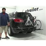 Swagman  Hitch Bike Racks Review - 2014 Buick Enclave