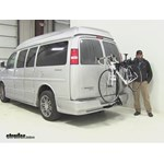 Swagman  Hitch Bike Racks Review - 2014 Chevrolet Express Van