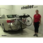 Swagman  Hitch Bike Racks Review - 2014 Chevrolet Malibu