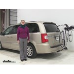 Swagman  Hitch Bike Racks Review - 2014 Chrysler Town and Country