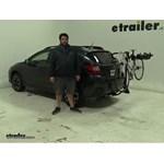 Swagman  Hitch Bike Racks Review - 2014 Subaru XV Crosstrek