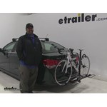 Swagman Hitch Bike Racks Review - 2015 Chevrolet Cruze