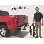 Swagman  Hitch Bike Racks Review - 2015 Chevrolet Silverado 1500