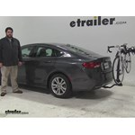 Swagman  Hitch Bike Racks Review - 2015 Chrysler 200