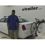 Swagman  Hitch Bike Racks Review - 2015 Chrysler 300