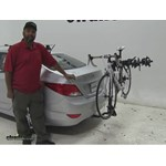 Swagman  Hitch Bike Racks Review - 2015 Hyundai Accent