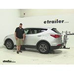 Swagman  Hitch Bike Racks Review - 2015 Hyundai Santa Fe