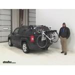 Swagman  Hitch Bike Racks Review - 2015 Jeep Patriot