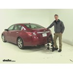 Swagman  Hitch Bike Racks Review - 2015 Nissan Altima