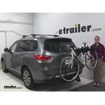 Swagman  Hitch Bike Racks Review - 2015 Nissan Pathfinder