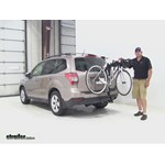 Swagman  Hitch Bike Racks Review - 2015 Subaru Forester