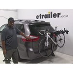 Swagman  Hitch Bike Racks Review - 2015 Toyota Sienna
