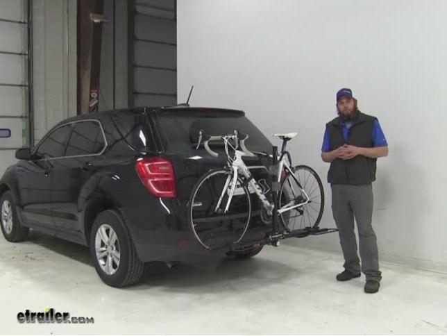 Swagman Hitch Bike Racks Review   2016 Chevrolet Equinox
