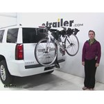 Swagman  Hitch Bike Racks Review - 2016 Chevrolet Tahoe