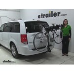 Swagman  Hitch Bike Racks Review - 2016 Dodge Grand Caravan