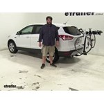 Swagman  Hitch Bike Racks Review - 2016 Ford Escape