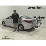 Swagman  Hitch Bike Racks Review - 2016 Hyundai Elantra