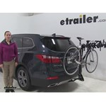 Swagman  Hitch Bike Racks Review - 2016 Hyundai Santa Fe