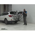 Swagman  Hitch Bike Racks Review - 2016 Subaru Outback Wagon