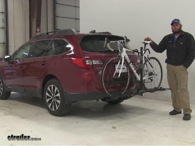 Swagman Hitch Bike Racks Review 2017 Subaru Outback Wagon Etrailer Com