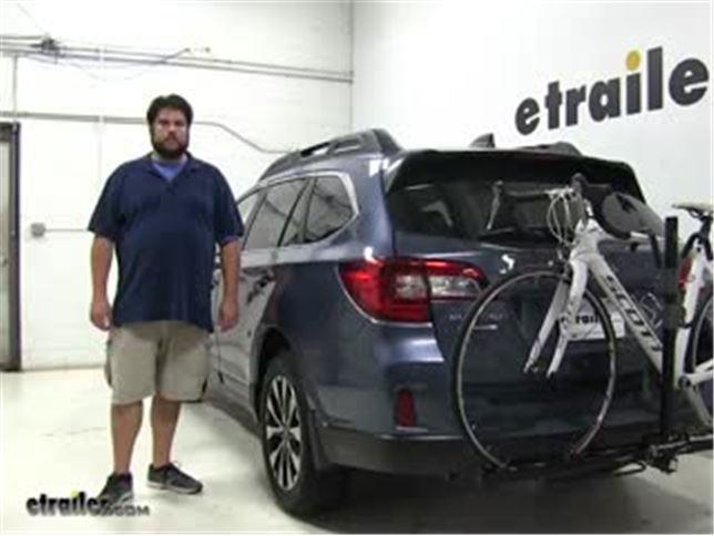 Swagman Hitch Bike Racks Review 2017 Subaru Outback Wagon Video Etrailer