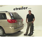 Swagman Titan Hitch Bike Racks Review - 2007 Toyota Sienna