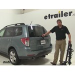 Swagman Titan Hitch Bike Racks Review - 2010 Subaru Forester