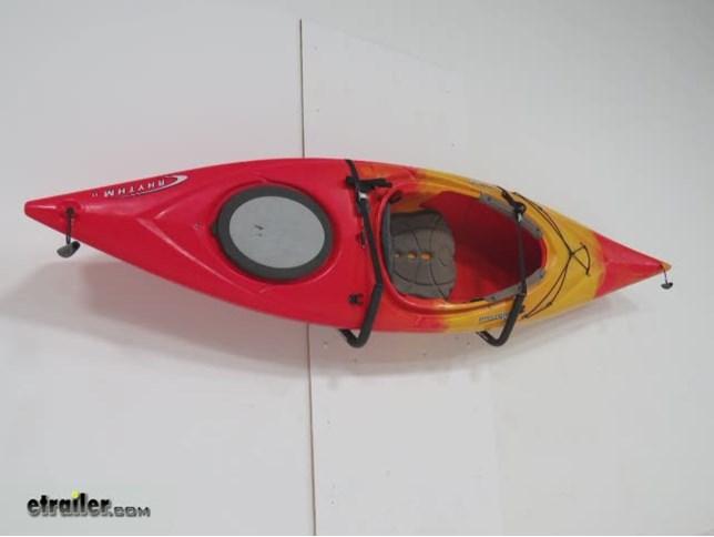 Swagman Tajo Wall Mounted Kayak Storage System Review Video | Etrailer.com