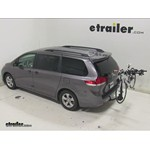 Swagman Titan Hitch Bike Rack Review - 2014 Toyota Sienna