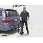 Swagman Titan Hitch Bike Racks Review - 2005 Honda Odyssey