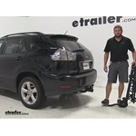 Swagman Titan Hitch Bike Racks Review - 2005 Lexus RX 330