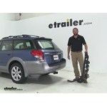 Swagman Titan Hitch Bike Racks Review - 2008 Subaru Outback Wagon