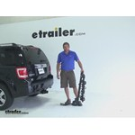 Swagman Titan Hitch Bike Racks Review - 2010 Ford Escape