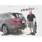 Swagman Titan Hitch Bike Racks Review - 2013 Hyundai Santa Fe