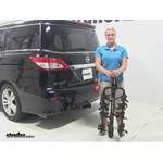 Swagman Titan Hitch Bike Racks Review - 2013 Nissan Quest