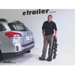Swagman Titan Hitch Bike Racks Review - 2013 Subaru Outback Wagon