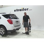 Swagman Titan Hitch Bike Racks Review - 2014 Chevrolet Equinox