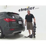 Swagman Titan Hitch Bike Racks Review - 2014 Hyundai Santa Fe