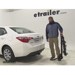 Swagman Titan Hitch Bike Racks Review - 2014 Toyota Corolla