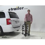 Swagman Titan Hitch Bike Racks Review - 2015 Chrysler Town and Country